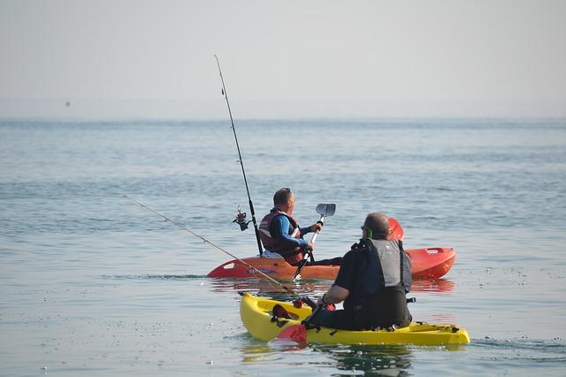 Fish finders for kayak