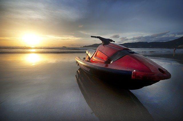 Parked Jet Ski