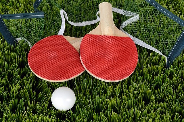 Customized ping pong paddles