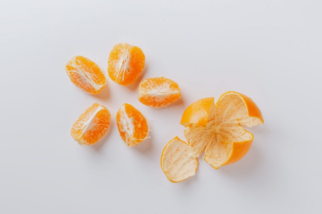Use Orange Peels to Get Rid Odor in Shoes